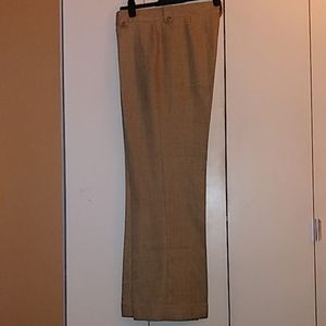 Pants with buttoned belt loops